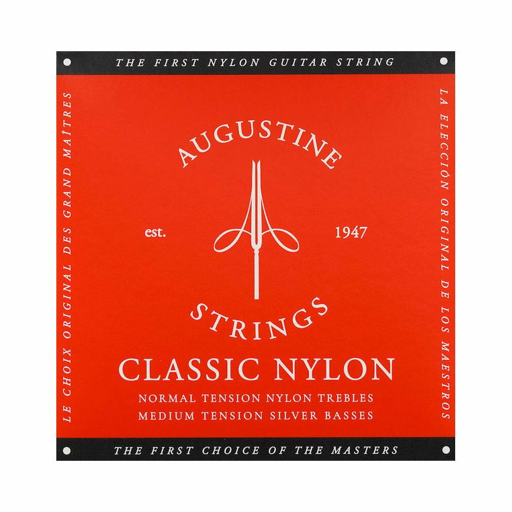 AUGUSTINE RED SET オーガスティン クラシックギター弦