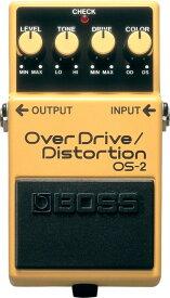 BOSS OS-2 オーバードライブ/ディストーション エフェクター