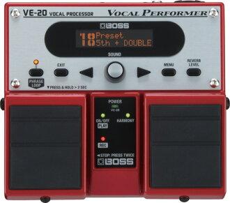 BOSS VE-20主唱效应器
