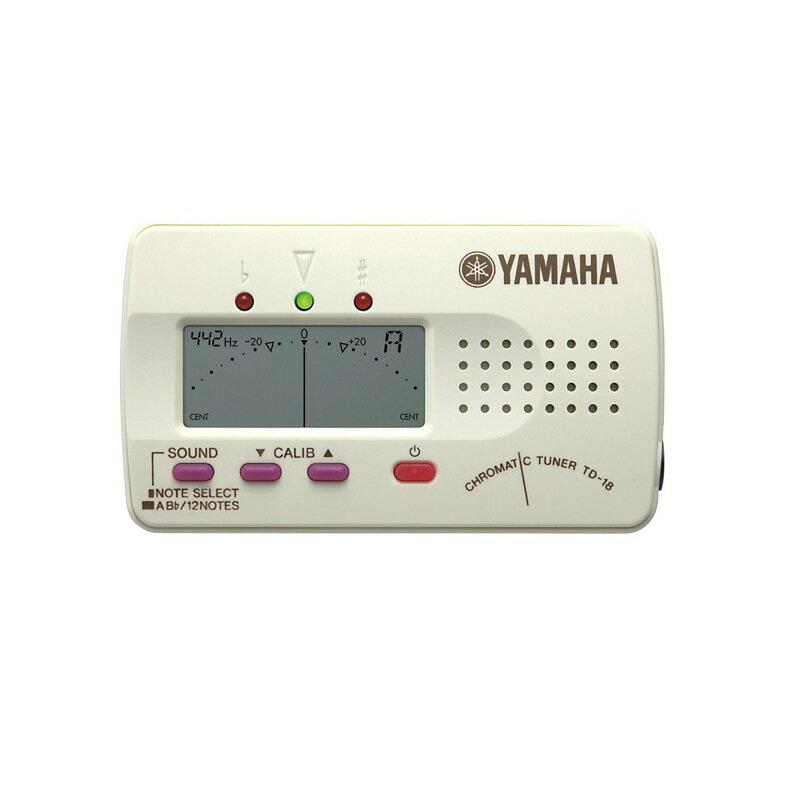 YAMAHA TD-18WE ホワイト クロマチックチューナー