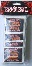 ERNIE BALL WONDER WIPES FRETBOARD CONDITIONER×20枚入 フレットボード コンディショナー