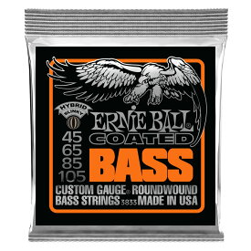 ERNIE BALL 3833 Coated Hybrid Slinky BASS エレキベース弦