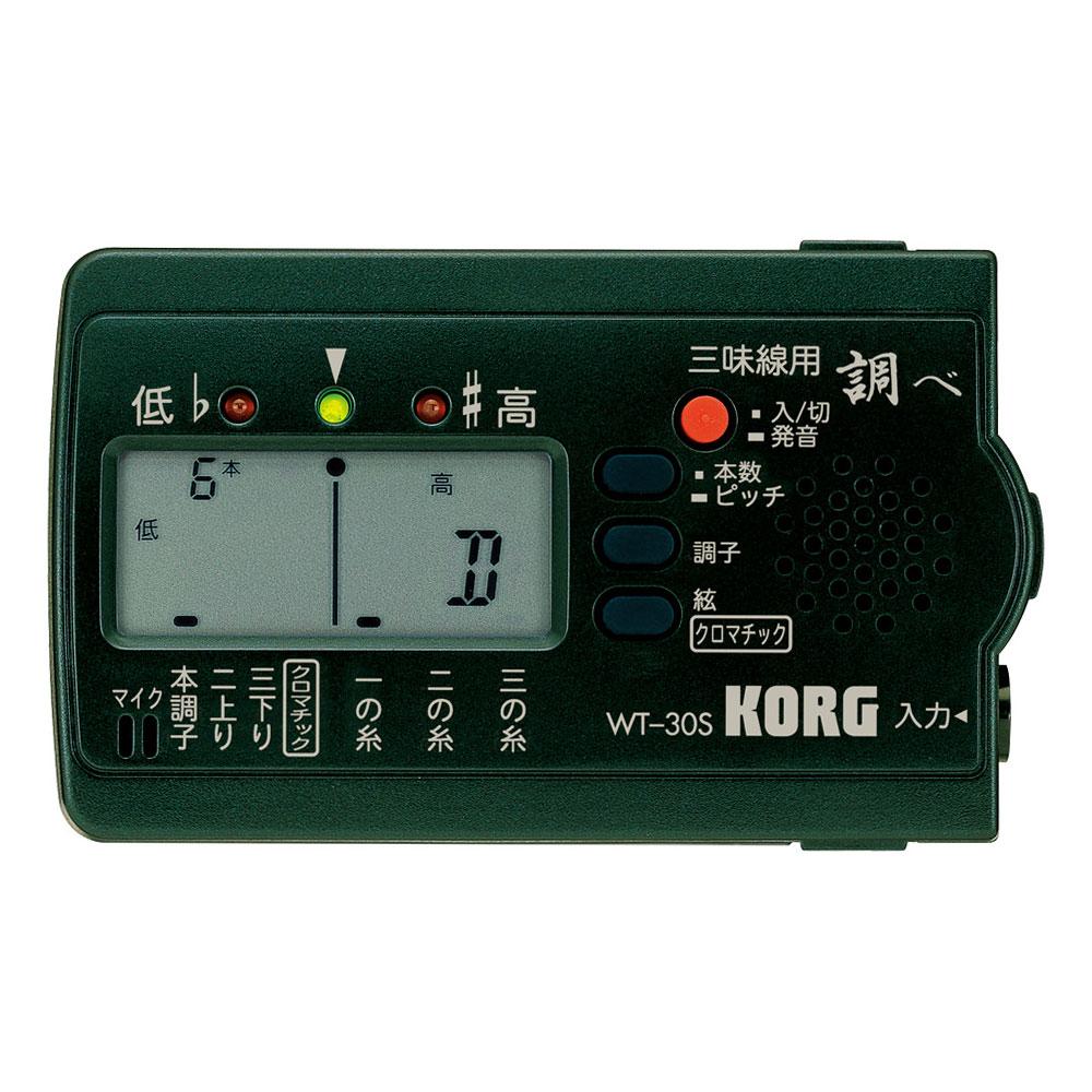 KORG WT-30S 三味線用チューナー