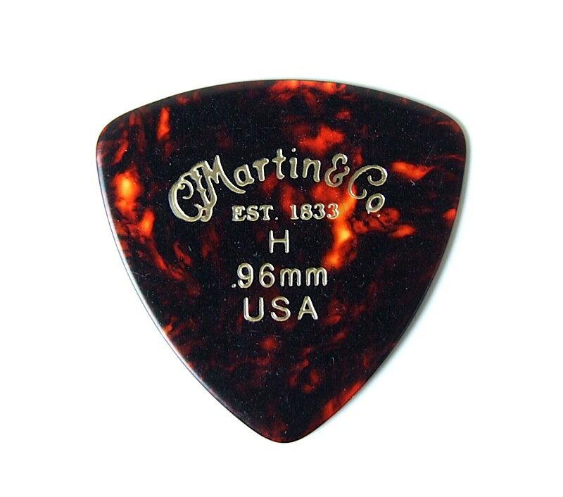 MARTIN Triangle Heavy 0.96 ギターピック トライアングル型 ヘビー 12枚セット