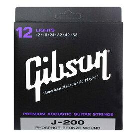 GIBSON SAG-J200L アコースティックギター弦