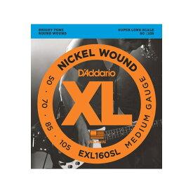 D'Addario EXL160SL MEDIUM SUPER LONG ベース弦