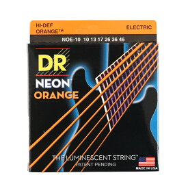 DR NEON ORANGE DR-NOE10 Medium エレキギター弦