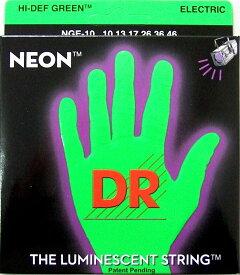 DR NEON GREEN DR-NGE10 Medium エレキギター弦