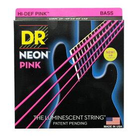 DR NEON Hi-Def PINK MEDIUM NPB-45 エレキベース弦