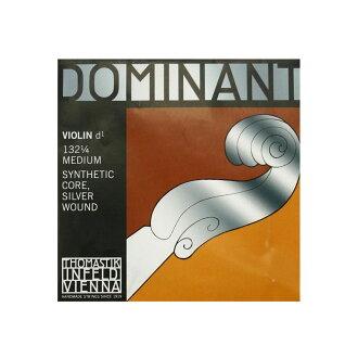 Thomastik Dominant No.132 1/4 D線dominantobaiorin弦