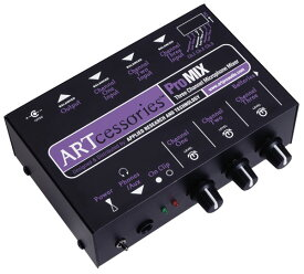ART Pro Mix 3チャンネルマイクプリアンプ内蔵小型ミキサー