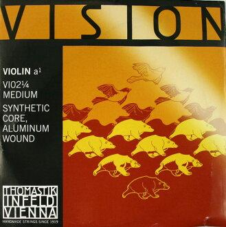 Thomastik VISION VI02 1/4 A線展望小提琴弦