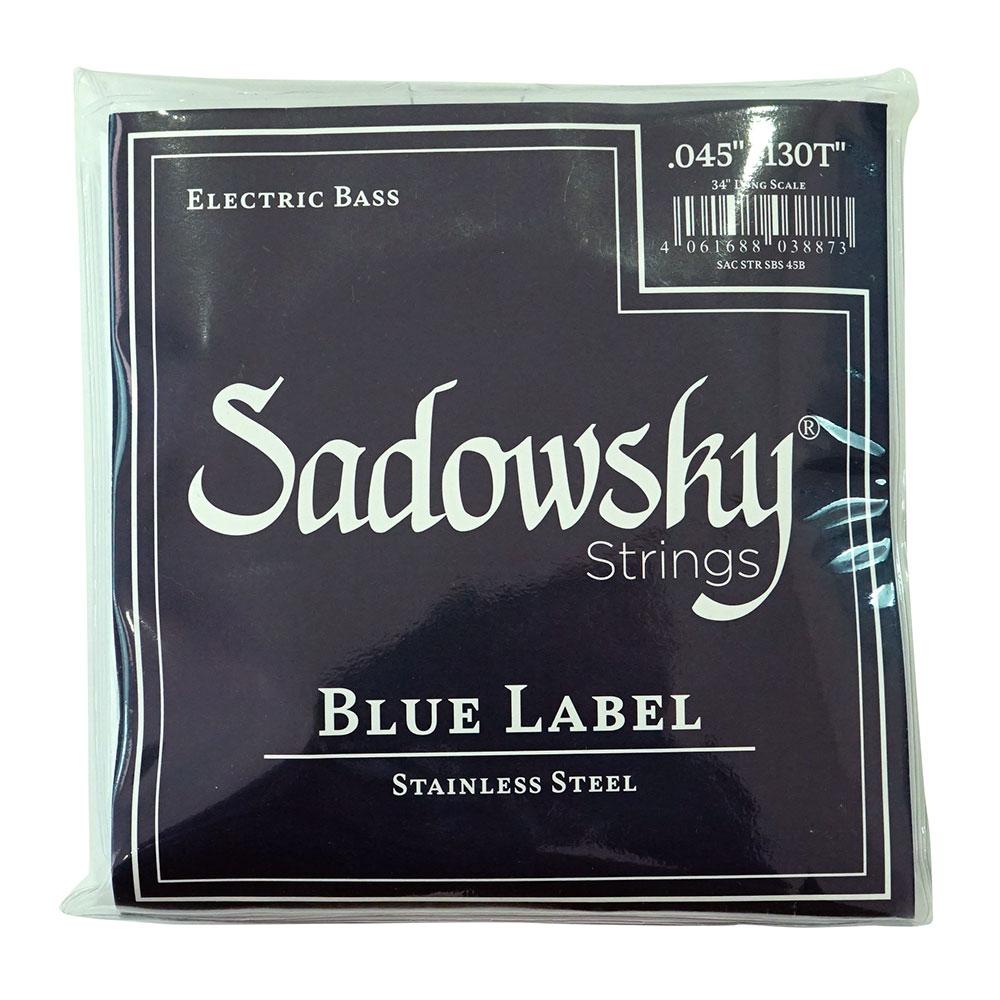 SADOWSKY SBS45B Blue ブルーラベル ステンレススチール 5弦ベース弦