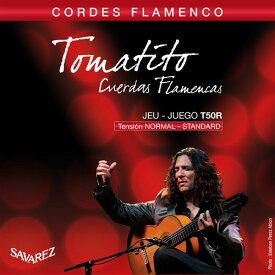 SAVAREZ T50R NORMAL TENSION SET フラメンコギター弦