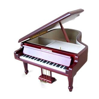 Sankyo AA-294 B 18변그랜드 피아노 오르골차L사이즈 피아노형 오르골 곡목:녹턴 fs3gm