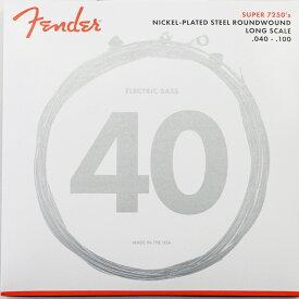 Fender Bass Strings Nickel Plated Steel 7250L 40-100 エレキベース弦