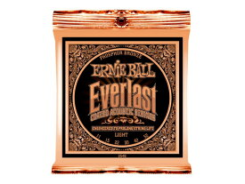 ERNIE BALL 2548 Everlast Coated PHOSPHOR BRONZE LIGHT アコースティックギター弦