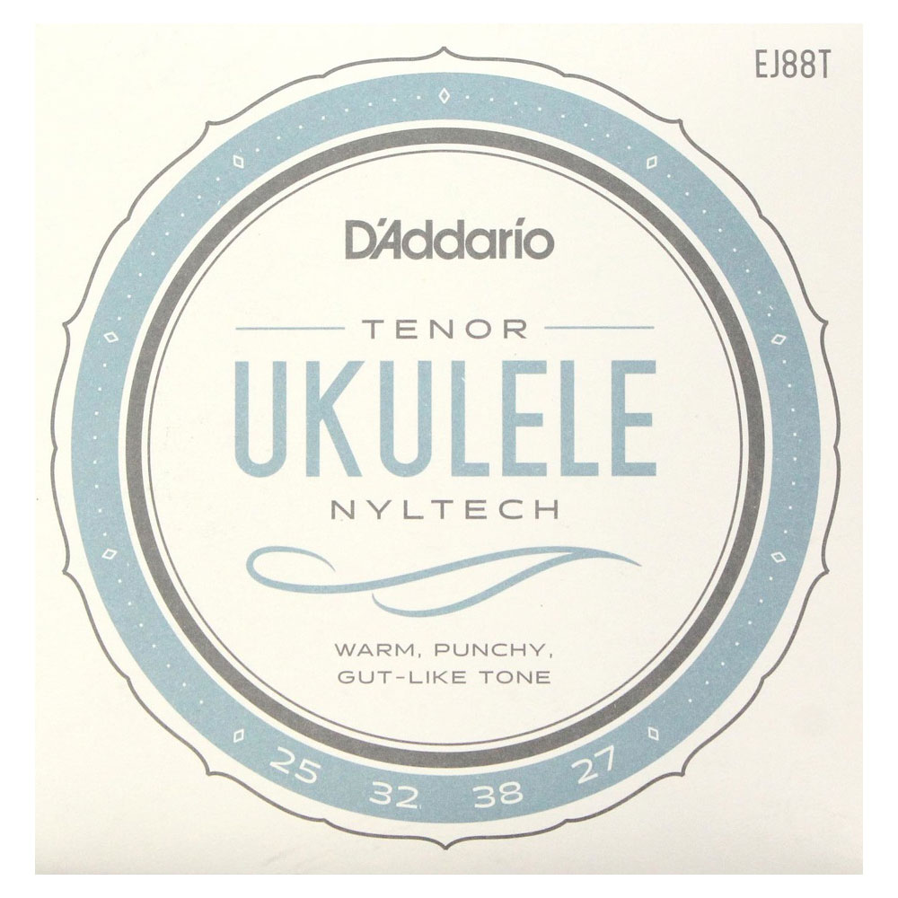 D'Addario EJ88T Nyltech Ukulele テナーウクレレ用セット弦
