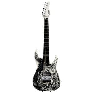 SCHECTER PA-ZK-T7 WHT/Original Dragon Graphic 小林信一モデル 7弦エレキギター