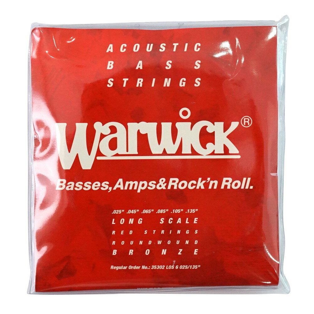 WARWICK 35302 LOS6 RED BRONZE Acoustic 6-string Long scale 025-135 アコースティックベース弦