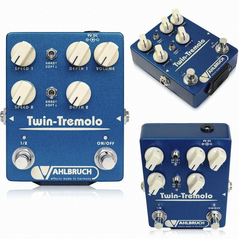 VAHLBRUCH Twin-Tremolo ギターエフェクター