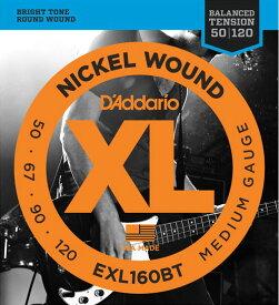 D'Addario EXL160BT Medium 50-120 エレキベース弦