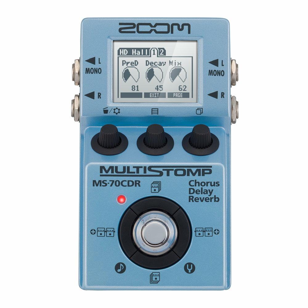 ZOOM MultiStomp MS-70CDR 空間系マルチエフェクター