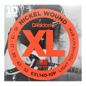 D'Addario EXL140-10P 10セットパック エレキギター弦