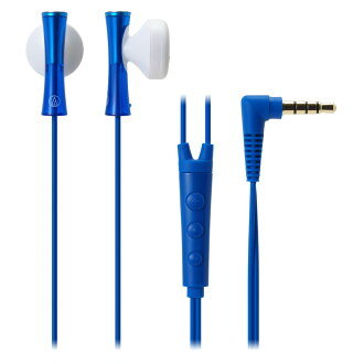 AUDIO-TECHNICA ATH-J100i BL iPod/iPhone/iPad 전용 이너 이어 헤드폰