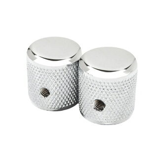 Fender Pure Vintage ' 58 Telecaster Knurled Knobs Chrome 손잡이