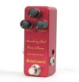 One Control Strawberry Red Over Drive ギターエフェクター