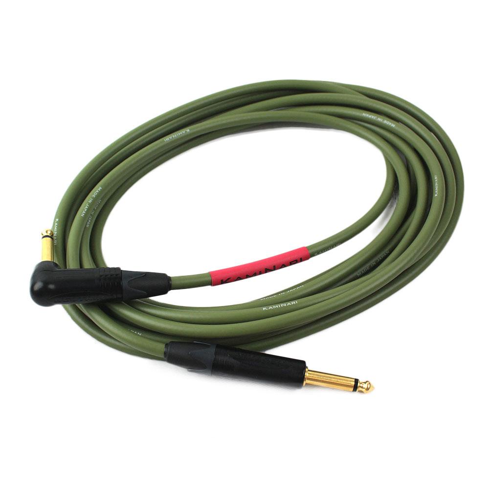 KAMINARI K-BC5LS Electric Bass Cable 5m LS エレクトリックベース専用ケーブル