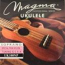 MAGMA STRINGS UK100NP Color Nylon/Pink ソプラノ用ウクレレ弦