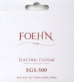 FOEHN EGS-500 Electric Guitar Strings Regular light エレキギター弦 10-46