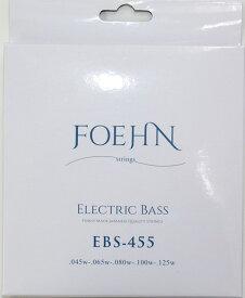 FOEHN EBS-455 Electric Bass Strings Regular Light 5strings 5弦エレキベース弦 45-125