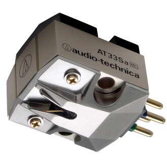 Audio-Technica AT33Sa MC type (dual moving coil) stereo cartridge