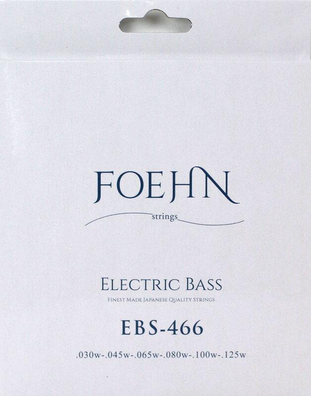 FOEHN EBS-466 Electric Bass Strings Regular Light 6strings 6弦エレキベース弦 30-125