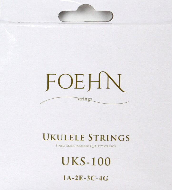 FOEHN UKS-100 Ukulele Strings Soprano/Concert ウクレレ弦 ソプラノ/コンサート用