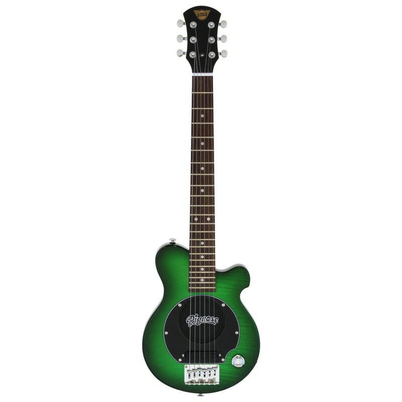 Pignose PGG-200FM SGR ヘッドホン付き アンプ内蔵エレキギター