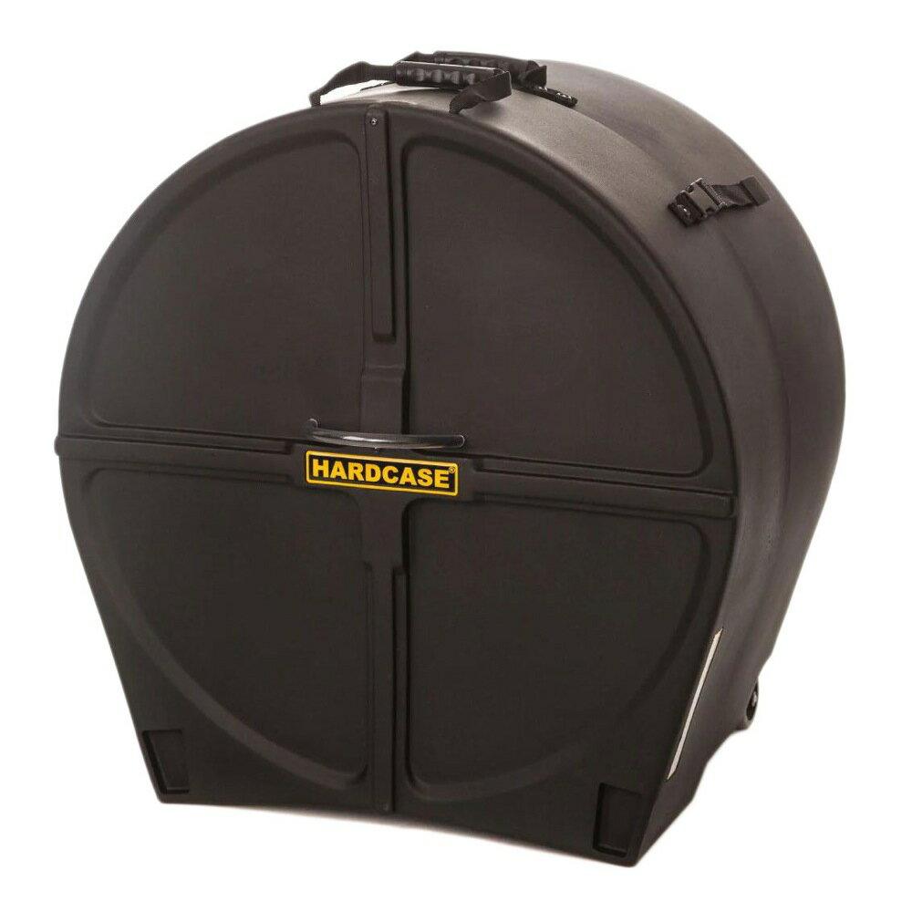 "HARDCASE HN18B 18"" Black バスドラム用ハードケース"