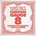 ERNIE BALL 1008 ギター用バラ弦×6本