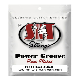 SIT STRINGS PN946 ROCK-N-ROLL POWER GROOVE 일렉트릭 기타현×3 세트