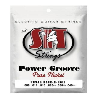 SIT STRINGS PN946 ROCK-N-ROLL POWER GROOVE 일렉트릭 기타현×6 세트