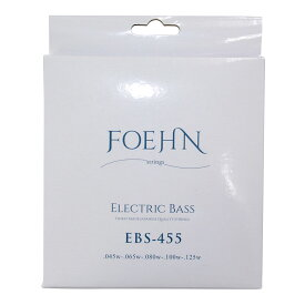 FOEHN EBS-455×2セット Electric Bass Strings Regular Light 5strings 5弦エレキベース弦 45-125