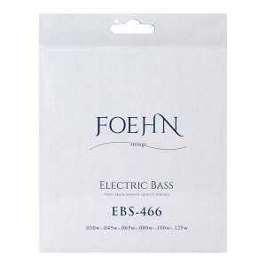 FOEHN EBS-466×2セット Electric Bass Strings Regular Light 6strings 6弦エレキベース弦 30-125