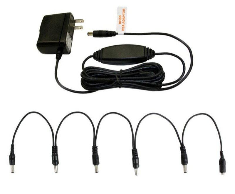 BOSS PSA-100S2 電源アダプター 電源分配 DCケーブル付きセット