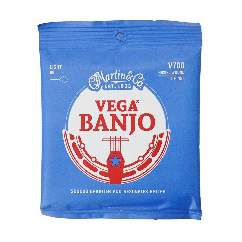 MARTIN V700 Banjo Nickel Wound/Light バンジョー弦×10SET