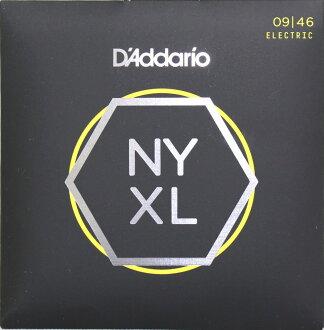 D'Addario NYXL0946 일렉트릭 기타현×5 SET