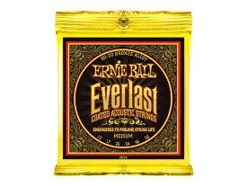 ERNIE BALL 2554 Everlast Coated 80/20 BRONZE ALLOY MEDIUM アコースティックギター弦×6SET