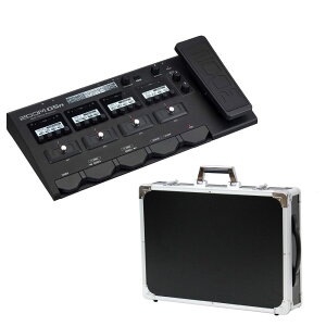 ZOOM G5n ギターマルチエフェクター DICON エフェクターケース付き
